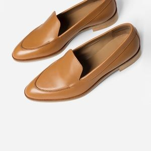 NEW Everlane The Modern Loafer in Camel Tan